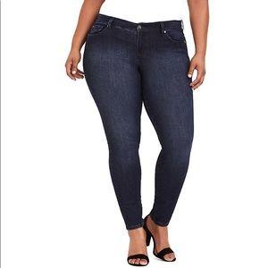 Torrid Dark Wash Classic Skinny Jeans